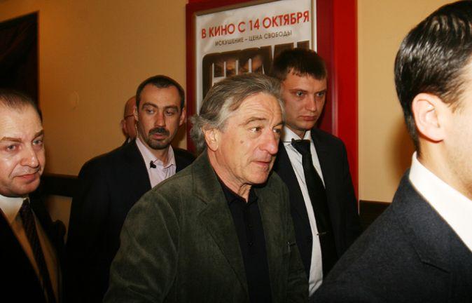 Роберт Де Ниро в Москве