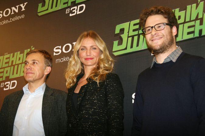 Группа фильма «Зеленый шершень» в Москве