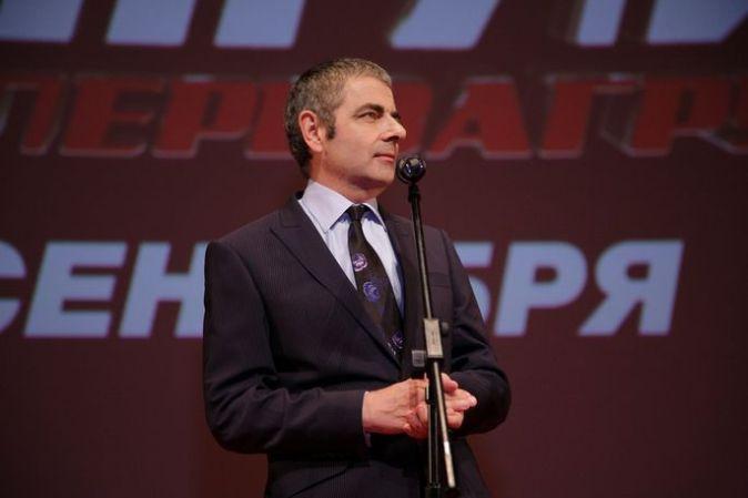 Роуэн Аткинсон в Москве