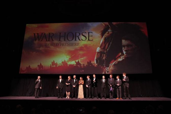 Премьера «Боевого коня» в Нью-Йорке