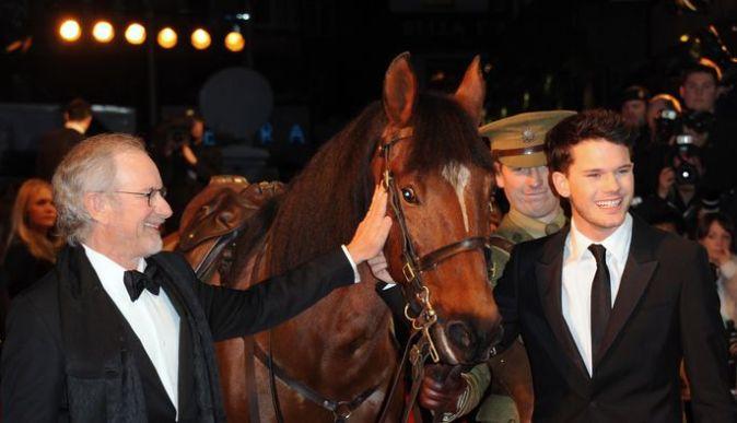 Премьера фильма «Боевой конь» в Лондоне