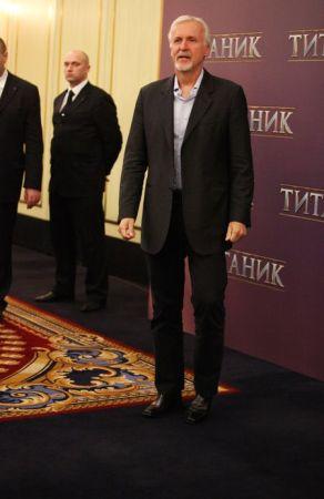 Джеймс Кэмерон в Москве
