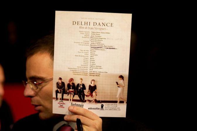 Римская премьера фильма «Танец Дели»