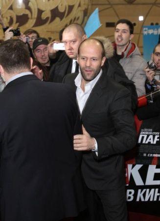 Джейсон Стэтэм представил в Москве свой новый фильм – криминальный триллер «Паркер»