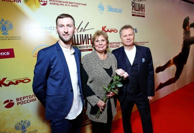 Звезды российского шоу-бизнеса и футбола на премьере фильма «Лев Яшин. Вратарь моей мечты»