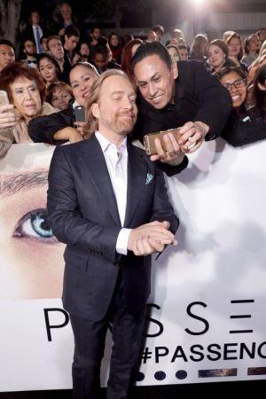 Мировая премьера фильма «Пассажиры» в Лос-Анджелесе