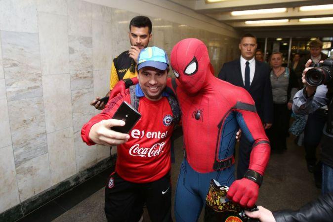 «Человек-паук: Возвращение домой» в Москве