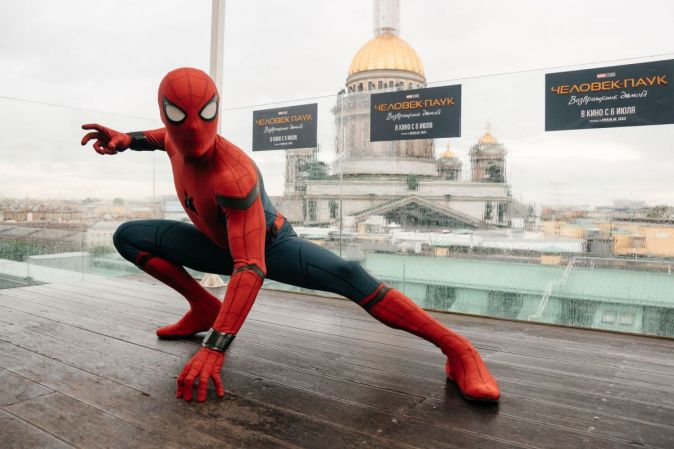 Человек-паук возвращение домой фильм 2018 кинотеатр москва