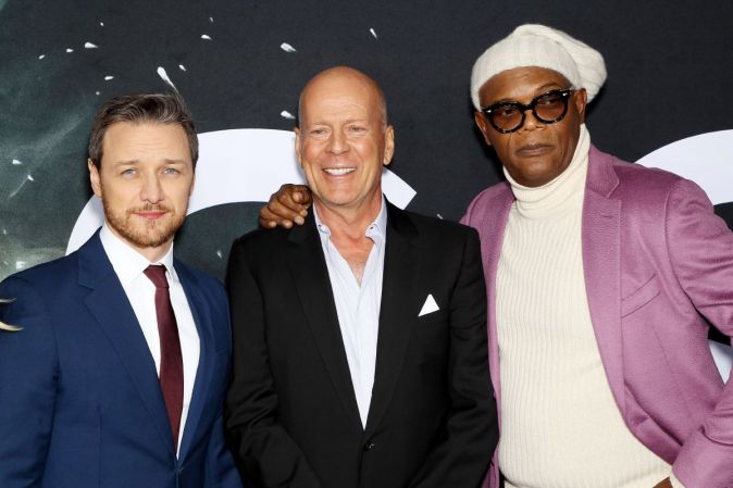 """World premiere of the comic thriller """"Glass"""""""