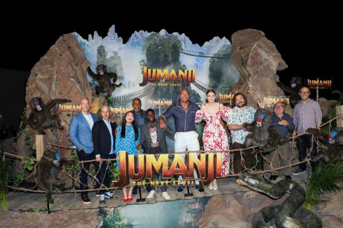 Фотоколл создателей фильма «Джуманджи: Новый уровень» в Мексике