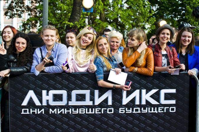 Майкл Фассбендер представил в Москве «Людей Икс»