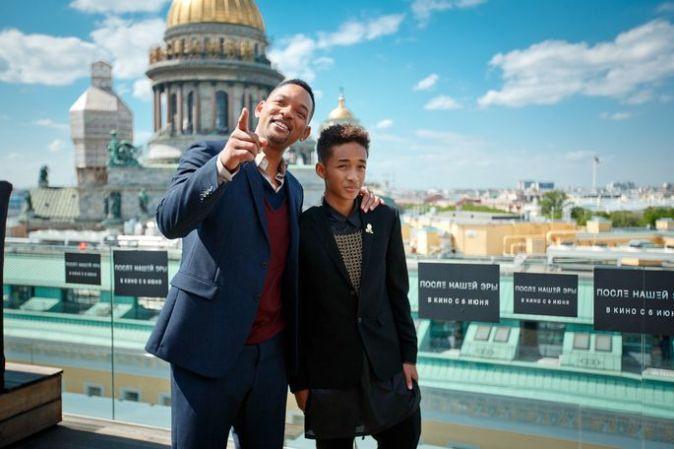 Уилл Смит и Джейден Смит представили фантастический экшн «После нашей эры»