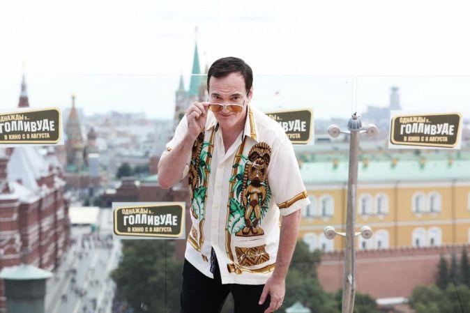 Фотоколл и пресс-конференции Квентина Тарантино в Москве