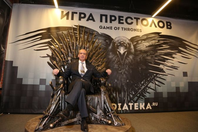 Премьера 4 сезона «Игры престолов» в Москве