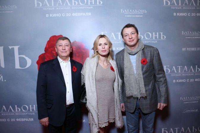 Премьера фильма «Батальонъ» в Москве