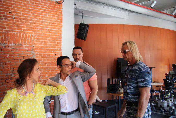 Завершился московский этап съемок фильма «Максимальный удар»
