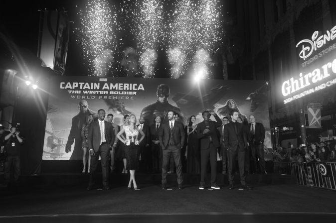 Мировая премьера блокбастера «Первый мститель: Другая война»