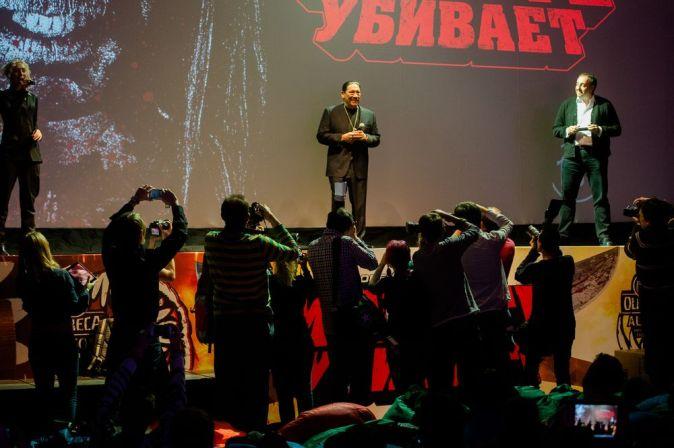 Московская премьера «Мачете убивает»