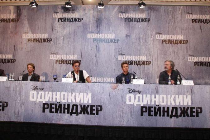 Премьера фильма «Одинокий рейнджер» в Москве