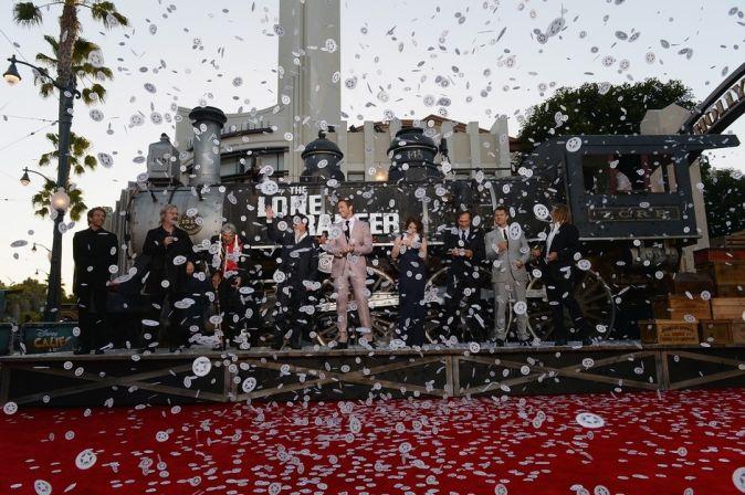 Мировая премьера фильма «Одинокий рейнджер»