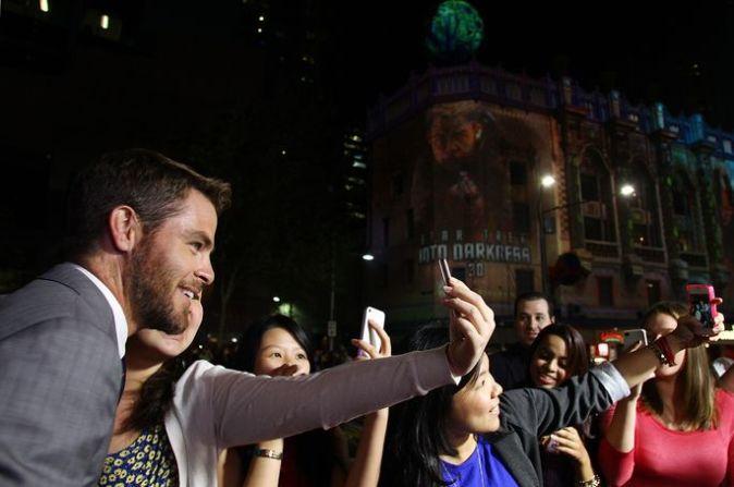 Премьера фильма «Стартрек: Возмездие» в Сиднее