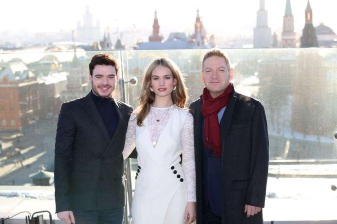 Премьера фильма «Золушка» в Москве
