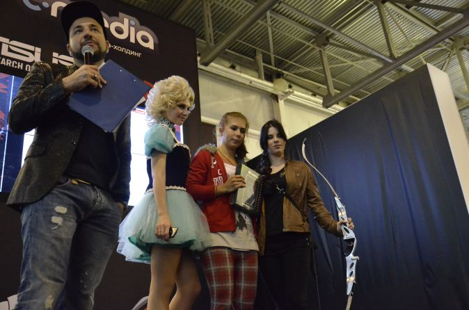 Медиа-холдинг С-Media и журнал Empire на выставке интерактивных развлечений «Игромир 2013»