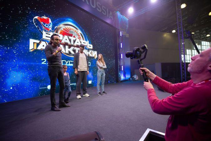 Фильм «Вратарь Галактики» представили на Comic Con Russia