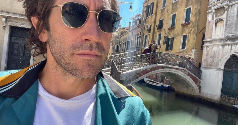 Джейк Джилленхол наткнулся в Венеции на клона-Мистерио