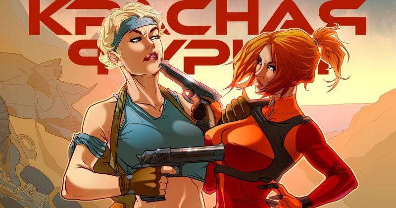 Первый в России комикс о женщине-супергероине «Красная Фурия» станет сериалом