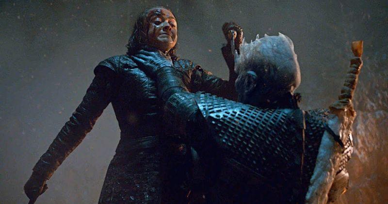 Мэйси Уильямс рассказала об оригинальной версии битвы с Ночным королём