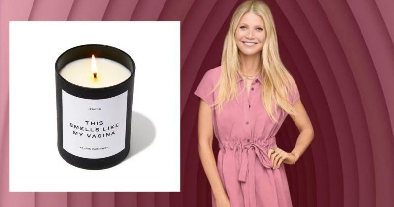 Брэнд Гвинет Пэлтроу начал продажу ароматических свечей с запахом влагалища