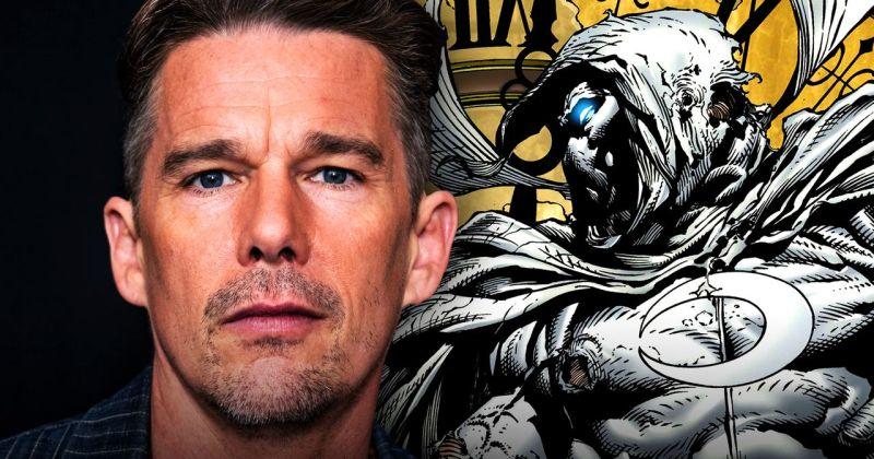 Итан Хоук дебютирует в Marvel. Актёр сыграет злодея в сериале «Лунный рыцарь»