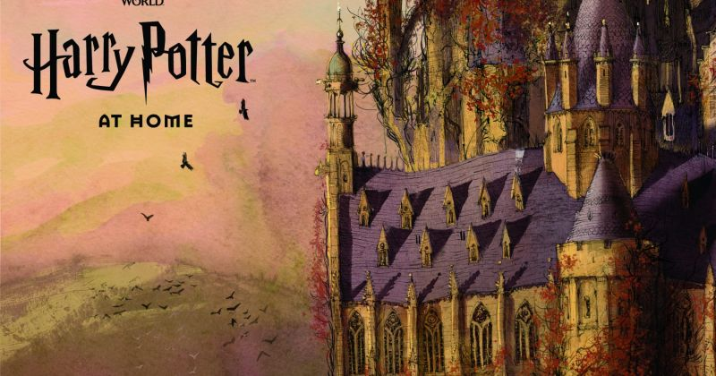 Джоан Роулинг запустила сайт «Гарри Поттер дома» для детей на карантине