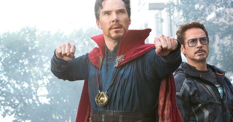 В Сеть попало фото Доктора Стрэнджа в броне Железного человека из «Войны бесконечности»