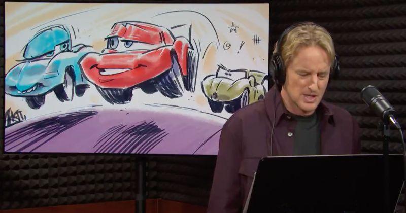 «Кчау»: Оуэн Уилсон снова озвучил Молнию МакКуина для премьерного выпуска SNL