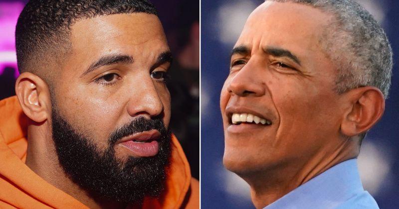 Барак Обама одобрил выбор Дрейка на роль в своём байопике