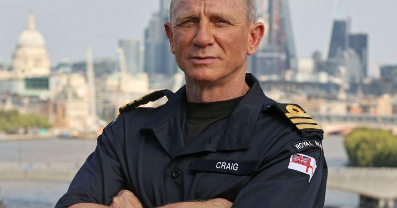 Дэниэл Крэйг получил звание почётного коммандера британской армии